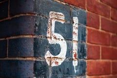 muur 51 stock afbeelding