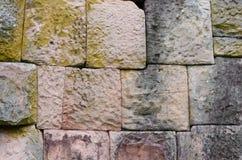 muur bij het kasteel Royalty-vrije Stock Foto's