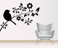 muur decoratie Stock Foto's
