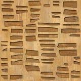 Muur decoratieve tegels - Abstract het met panelen bekleden patroon royalty-vrije illustratie