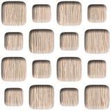 Muur decoratieve tegels - Abstract het met panelen bekleden patroon stock illustratie