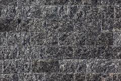 Muur die van natuurlijke steen wordt gemaakt Stock Foto's