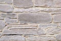 Muur die van steen wordt gemaakt stock foto