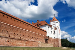 Muur en Toren Stock Foto