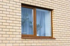 Muur en venster Royalty-vrije Stock Afbeeldingen