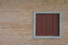 Muur en vensters Stock Foto's