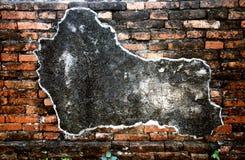 Muur in het oude paleis Royalty-vrije Stock Afbeeldingen