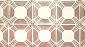 Muur met abstract bruin patroon stock video