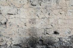 Muur met barsten en krassen stock afbeelding