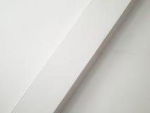 Muur met diagonale richel Stock Fotografie