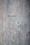 Muur met klein kader op het Stock Afbeeldingen