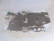 Muur met netto royalty-vrije stock afbeelding