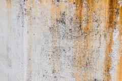 Muur met roesttextuur Royalty-vrije Stock Afbeeldingen