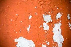 Muur met schilverf Royalty-vrije Stock Afbeelding