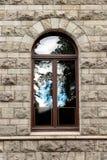 Muur met venster Royalty-vrije Stock Afbeeldingen