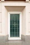 Muur met venster Stock Foto