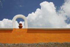 Muur in Mexico Stock Foto's