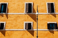 Muur in Rome Stock Afbeeldingen