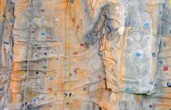 Muur in sportcentrum Stock Afbeeldingen