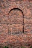 Muur van baksteen Royalty-vrije Stock Afbeeldingen
