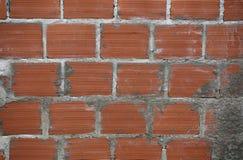 Muur van bakstenen Royalty-vrije Stock Foto's