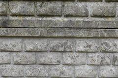 Muur van bakstenentextuur die wordt gemaakt royalty-vrije stock afbeelding