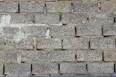 Muur van blokken Stock Afbeelding