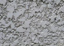 Muur van cementwit en zwarte Stock Afbeelding