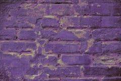 Muur van de achtergrondproton de purpere textuur van blokken royalty-vrije stock afbeelding