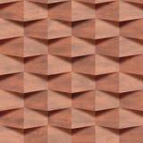 Muur van de baksteen, muur decoratieve tegels, Binnenlands behang, naadloze achtergrond vector illustratie