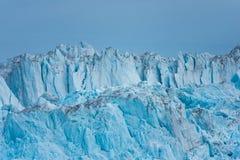 Muur van de claving Eqi-gletsjer, Groenland royalty-vrije stock fotografie