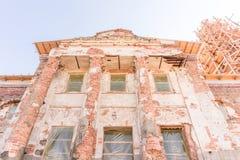 Muur van de oude Kerk ukraine Stock Afbeeldingen