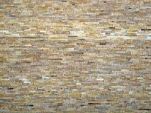 Muur van de steentegels Stock Foto
