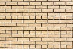 Muur van decoratieve bakstenen Royalty-vrije Stock Foto's