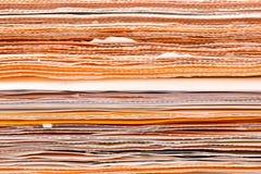 Muur van Documenten Royalty-vrije Stock Afbeelding