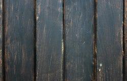 Muur van donkere houten planken Stock Afbeelding