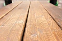 Muur van donkere houten planken Royalty-vrije Stock Afbeelding