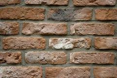 Muur van een baksteen Royalty-vrije Stock Afbeeldingen