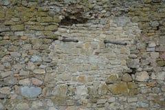Muur van een kasteel, enisala Stock Afbeelding