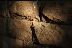 Muur van een kerker Stock Afbeelding