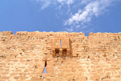 Muur van een oude forte Royalty-vrije Stock Foto