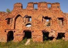 Muur van een oude vesting Royalty-vrije Stock Afbeelding