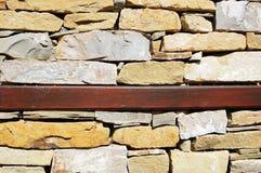 Muur van een traditinal Bulgaars huis Royalty-vrije Stock Afbeelding