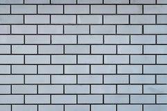 Muur van een witte baksteen Royalty-vrije Stock Foto's