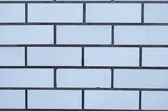 Muur van een witte baksteen Royalty-vrije Stock Afbeelding