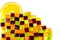 Muur van Fruit Royalty-vrije Stock Afbeelding