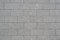 Muur van granietblokken Stock Fotografie