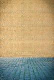 Muur van granulite stock afbeeldingen