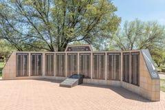 Muur van herinnering bij het Gedenkteken van de Vrouwen Royalty-vrije Stock Afbeelding
