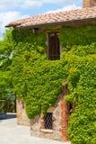 Muur van het oude landbouwershuis Royalty-vrije Stock Foto
